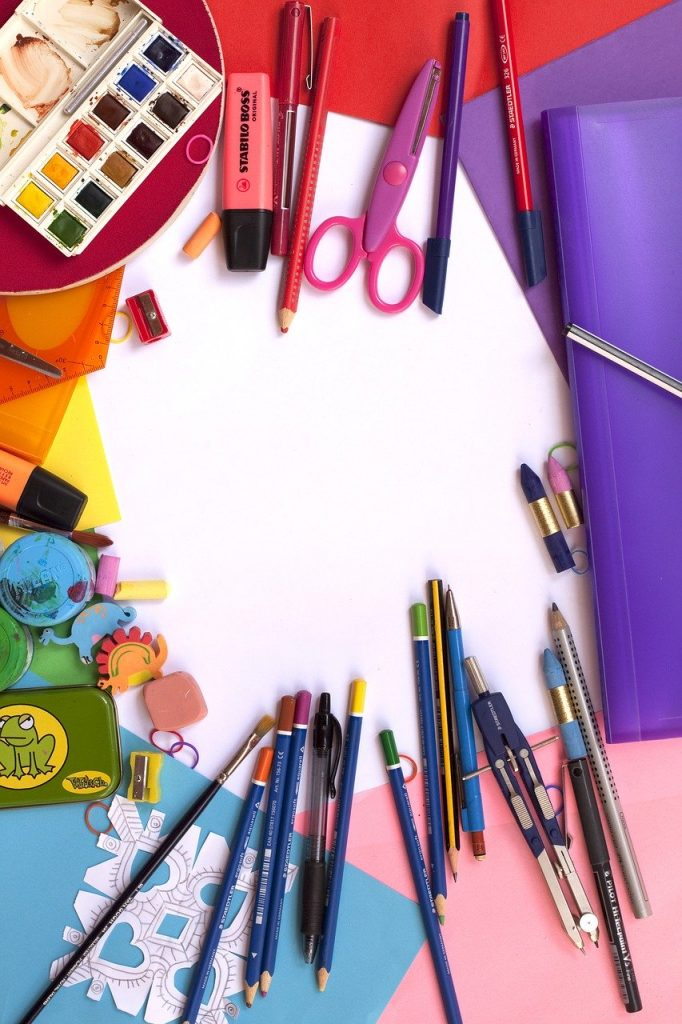 painting, school, color