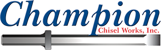 Champion Chisel Works, Inc. is a family-owned business manufacturing product in Rock Falls, Illinois, and distributing out of multiple warehouses across the US.