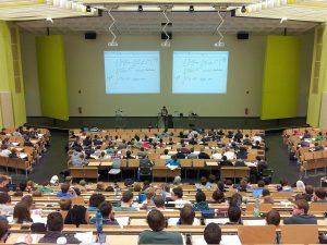 university, lecture, campus